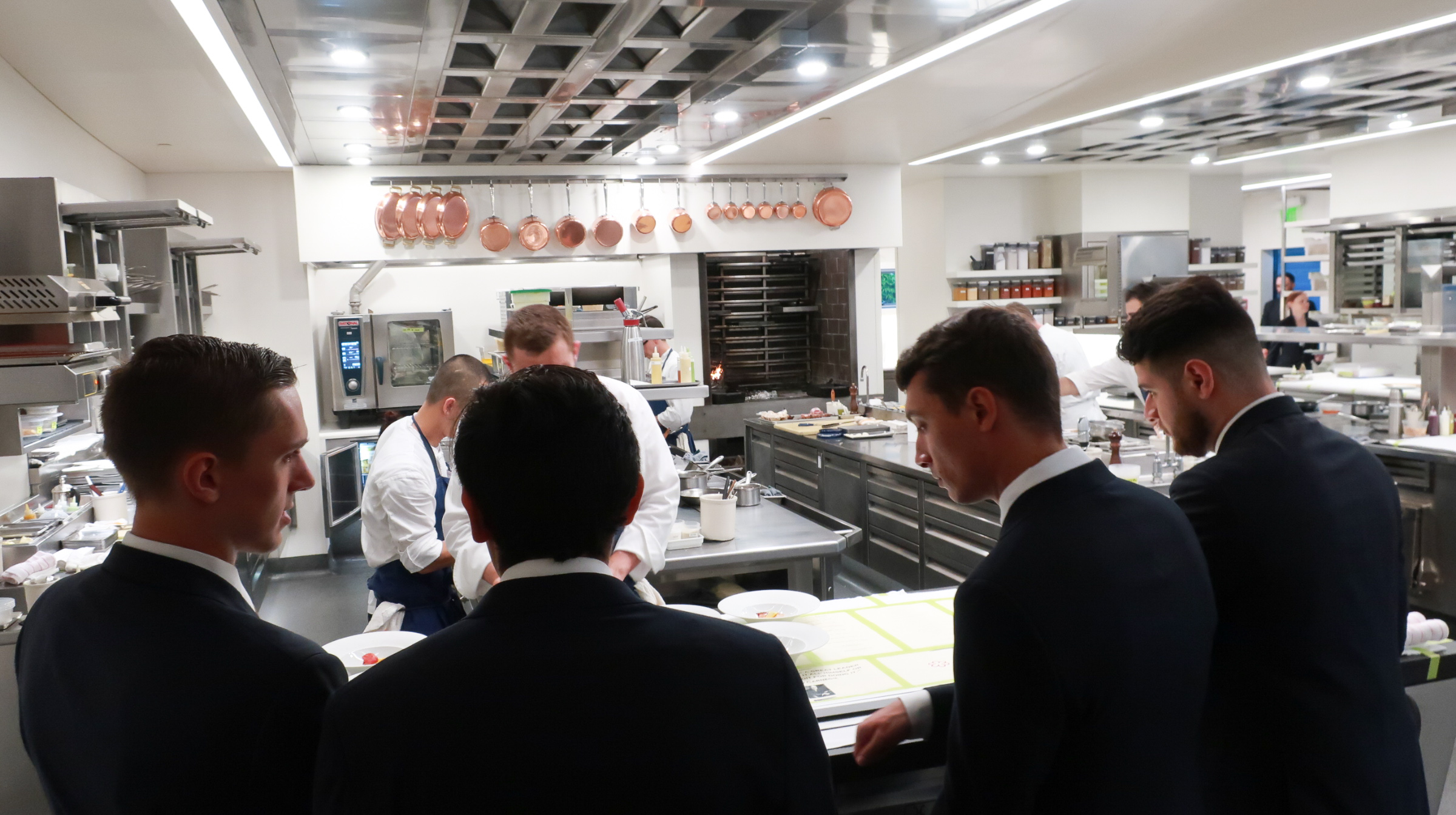 Calm and professional, the French Laundry kitchen