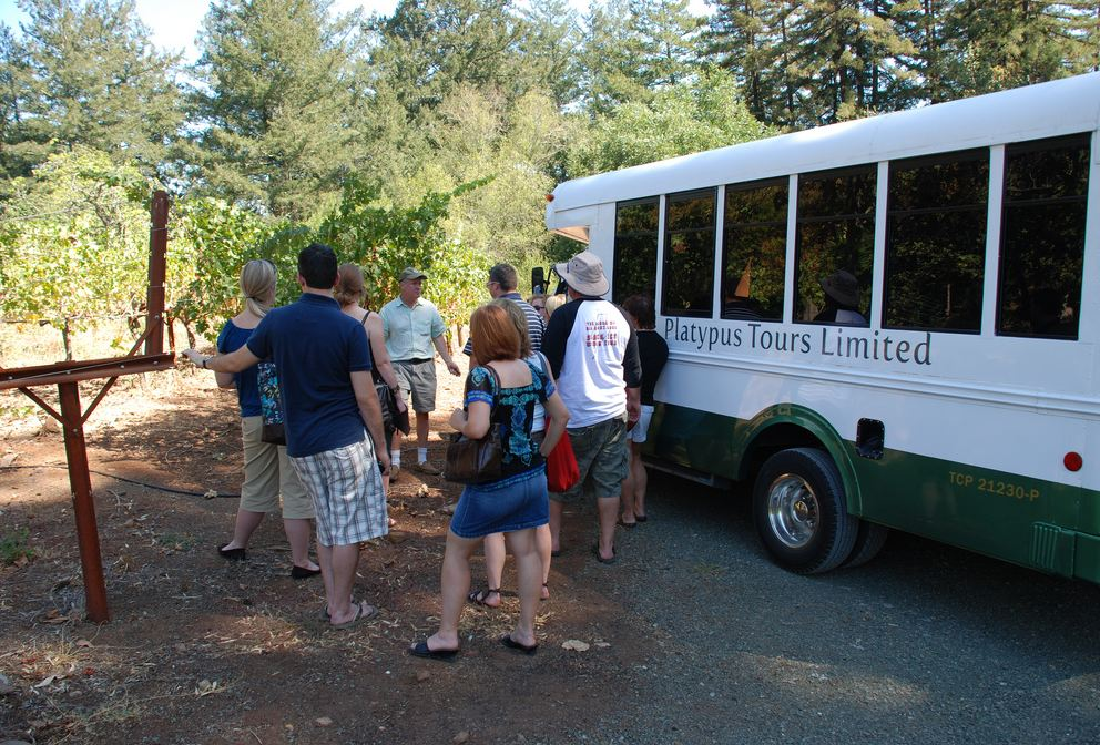 Platypus Tours for Napa and Sonoma