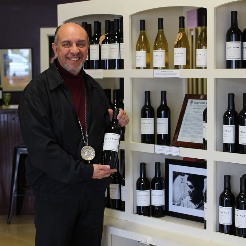 Learn how to taste wine with Victor Orozco