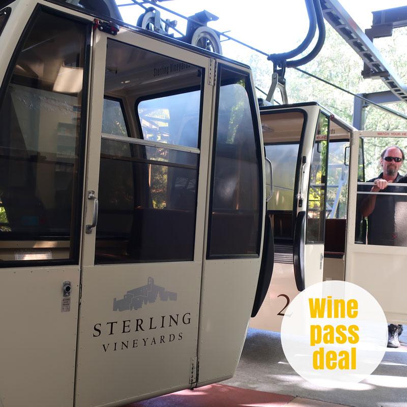 Sterling Vineyards Tram Ride Napa