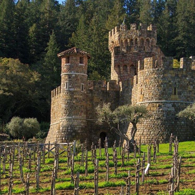 Castello di Amorosa, Napa Castle