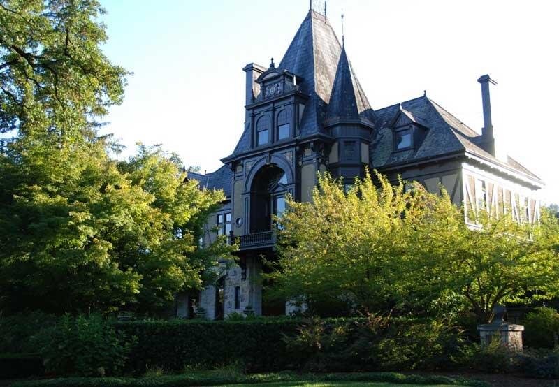 Beringer Vineyards Rhine House in Napa Valley