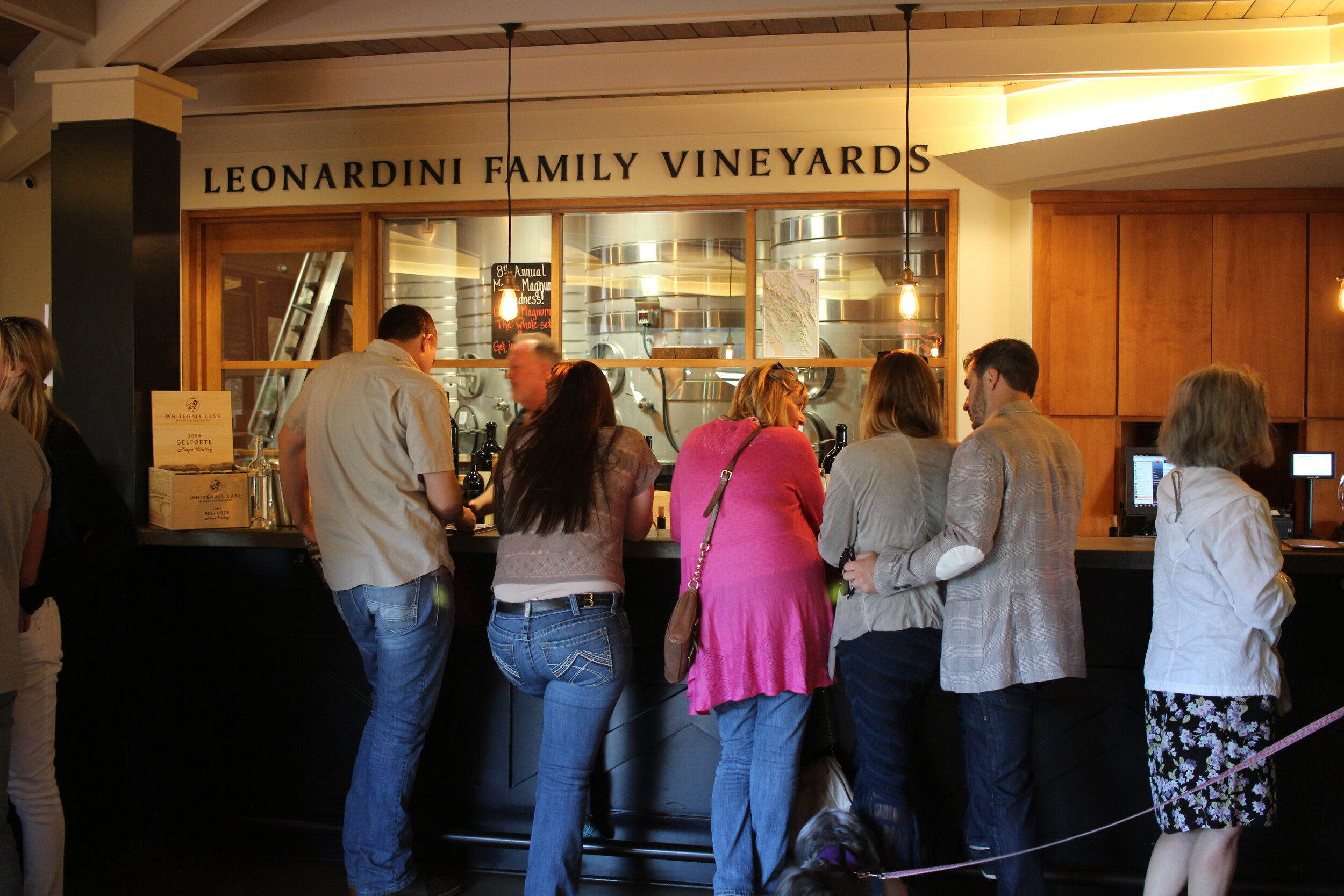 Whitehall Lane Winery in Napa Valley
