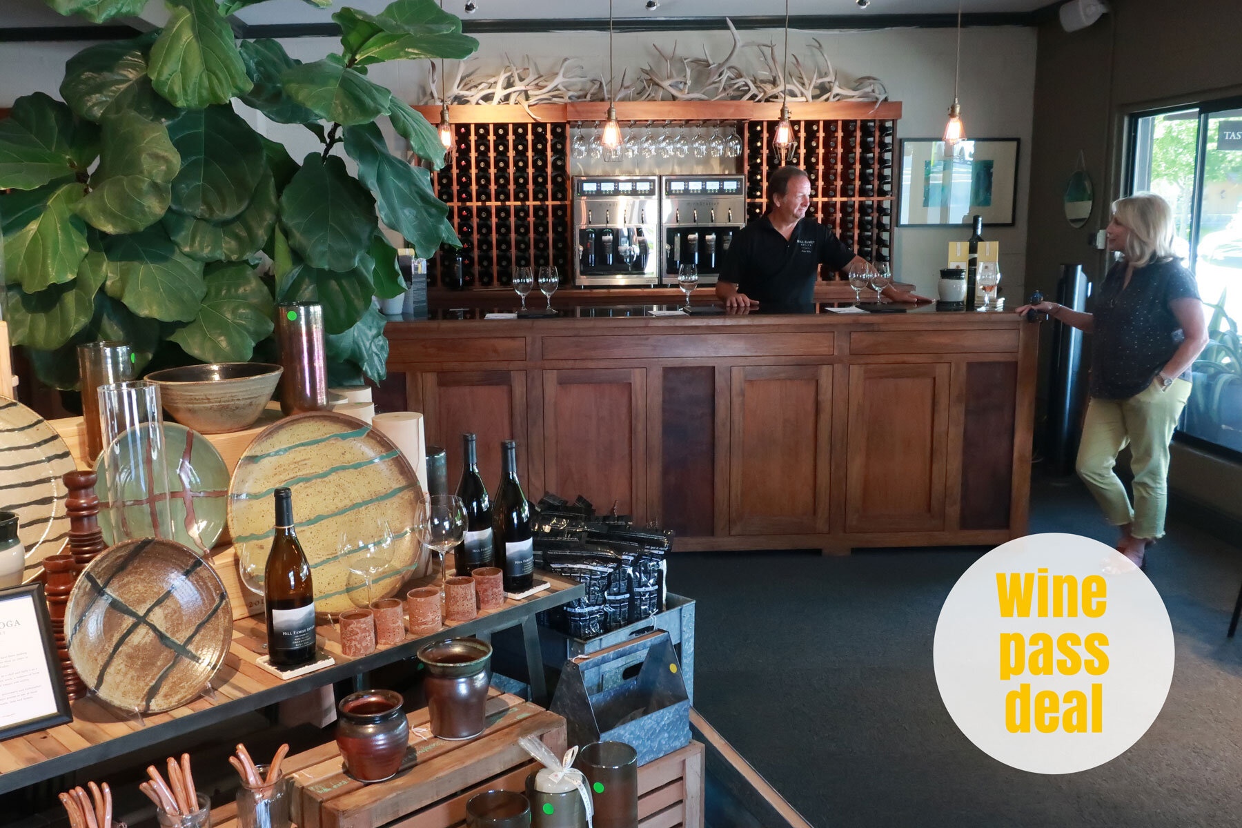 Hill Family Estate Wines in Yountville (Napa Valley)