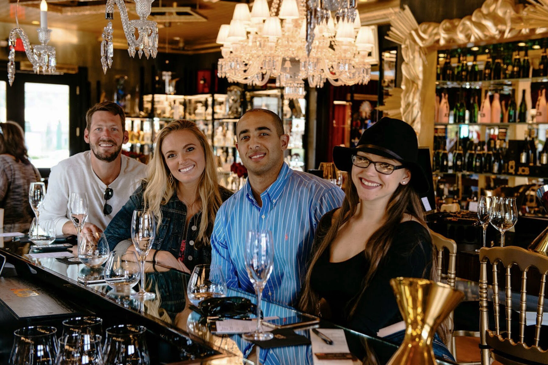 JCB Tasting Salon, Yountville (Napa Valley). Photo Credit: JCB Winery