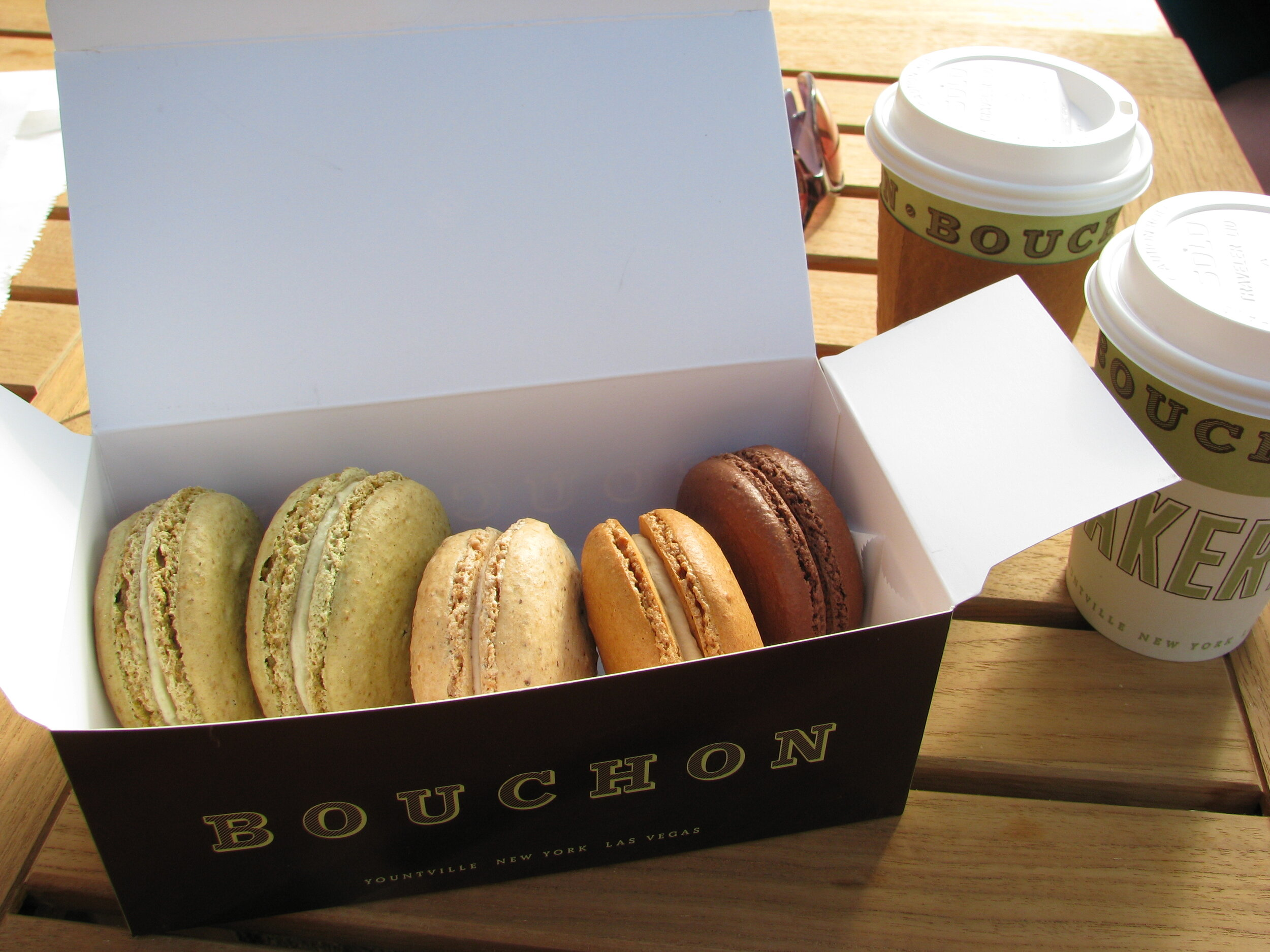 Bouchon Bakery in Yountville, a perfect first stop. (Napa Valley)