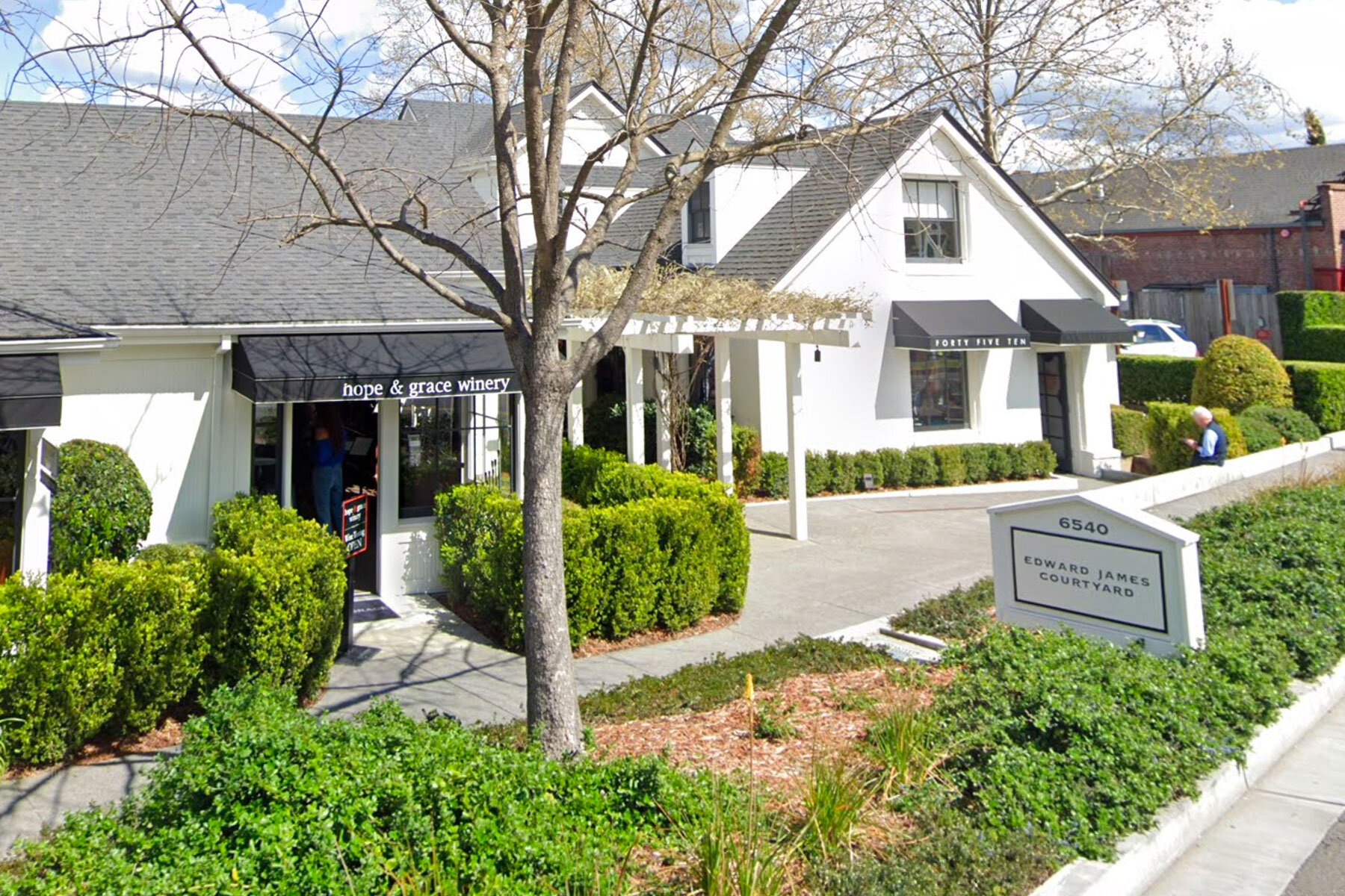 hope & grace Winery in Yountville (Napa Valley)