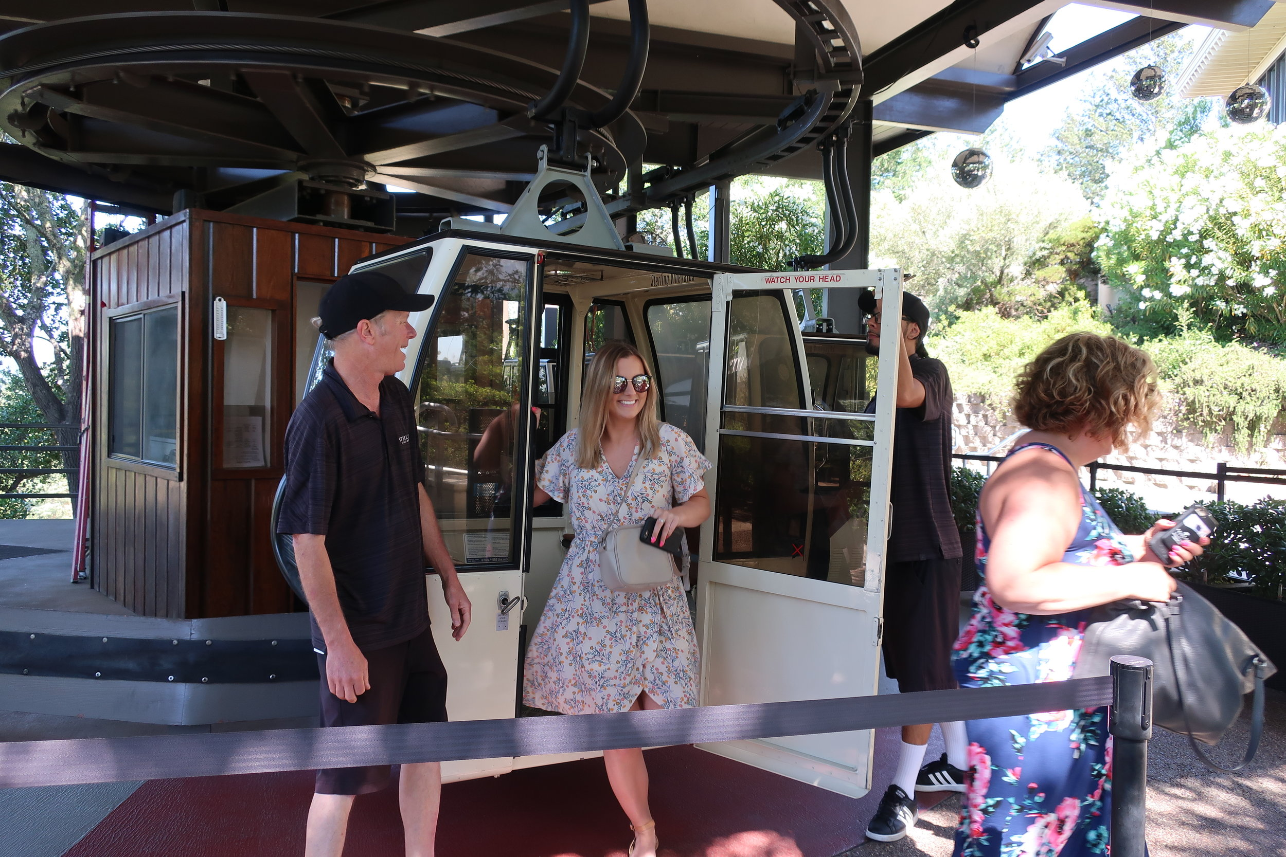 Tram at Sterling Vineyards - PIN IT AND SHARE!