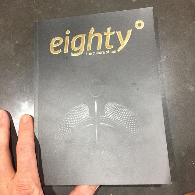 Thoroughly enjoying flicking through the first edition of #eightydegreesmagazine .. another beautifully compiled collection of tea photos, illustrations and articles that I'm looking forward to sinking my teeth into on a rainy day like today .. and look here, a piece on water temperatures for tea brewing.. #onpoint @readeighty ! #tea #tealover #arakaiestate #australiantea #teagrower