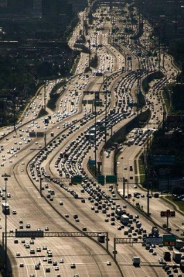 The same rules apply to dancing navigation as moving through Houston traffic.