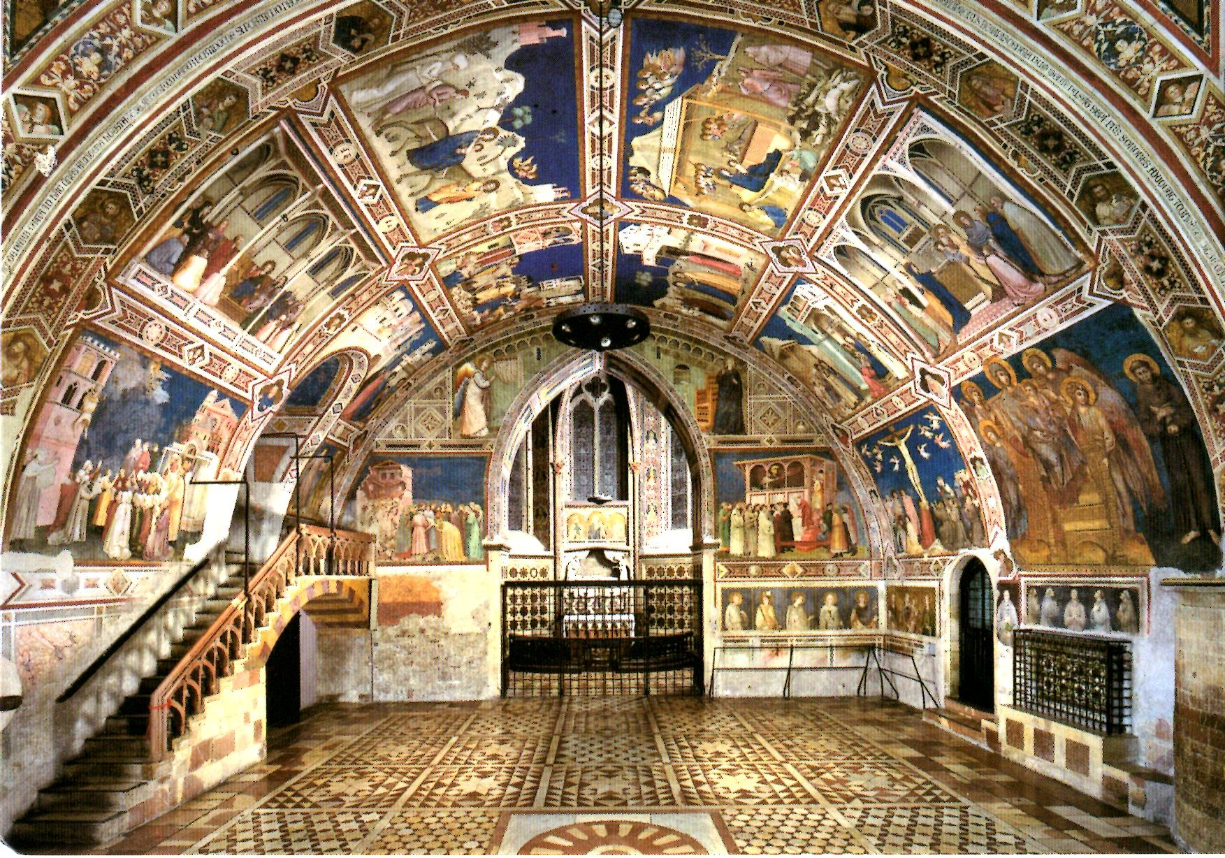 Basilica of St. Francis , ASsisi, Italy.