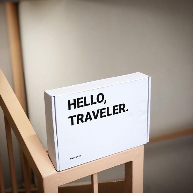 Adventure awaits. - - #lookgoodtravelwell #travelersupplyco _________________________________________ www.travelersupplyco.com