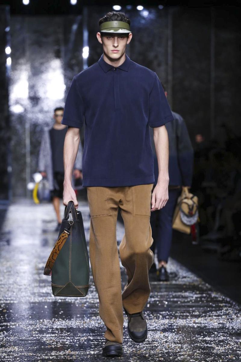 Fendi, Spring Summer 2016 Menswear Milan