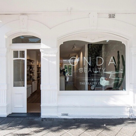 I love our beautiful heritage shopfront in Paddington! Drop by today to experience some new clean beauty supplies just in!  @ondabeautynyc X