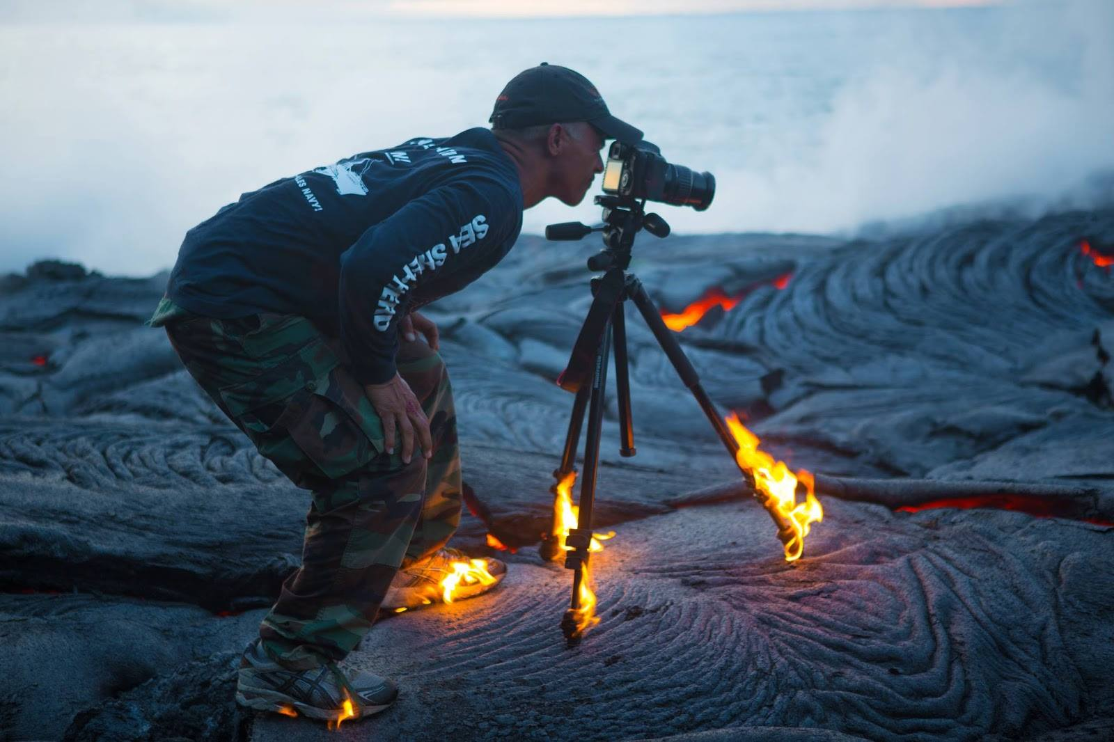 Christopher Hirata is Committed to Getting the Shot