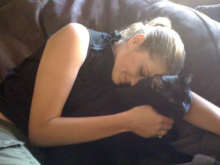 My beloved Boo and I, circa 2009