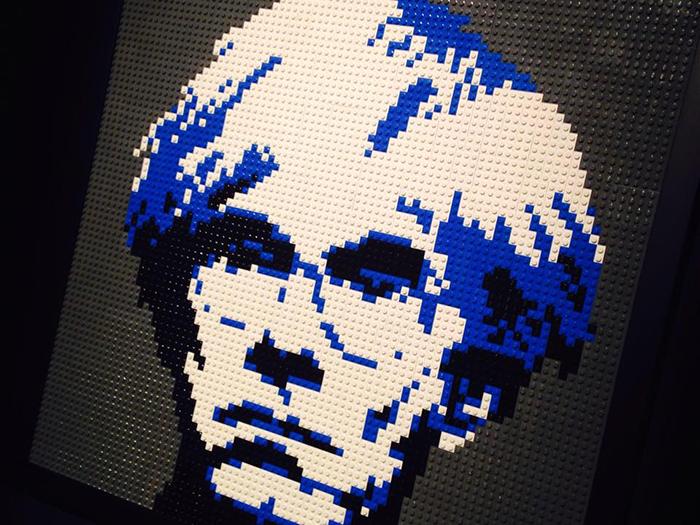 Andy Warhol Lego Art of the brick