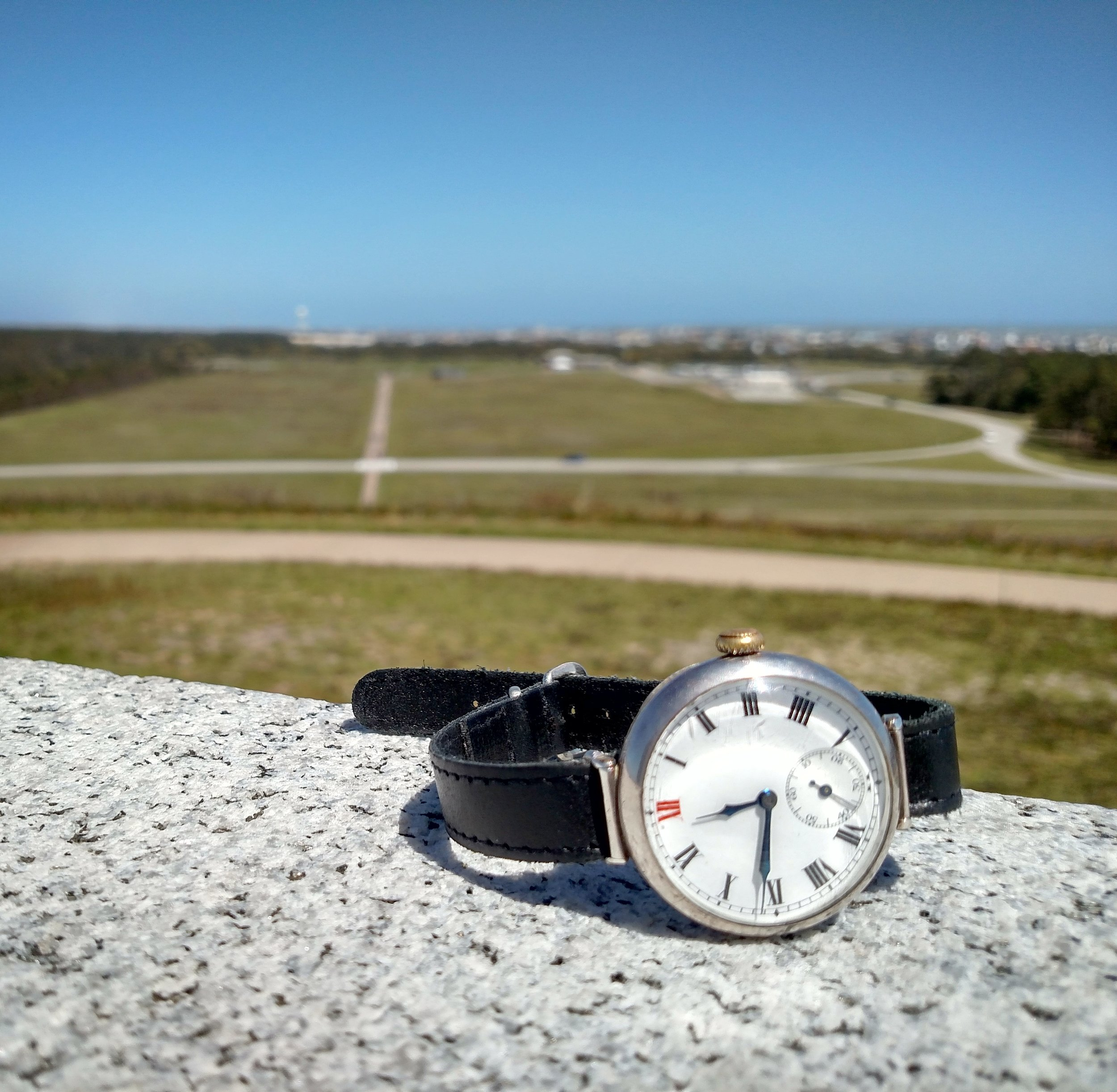1923 Longines at the Wright Brothers National Memorial  Kill Devile Hills, Outer Banks, North Carolina