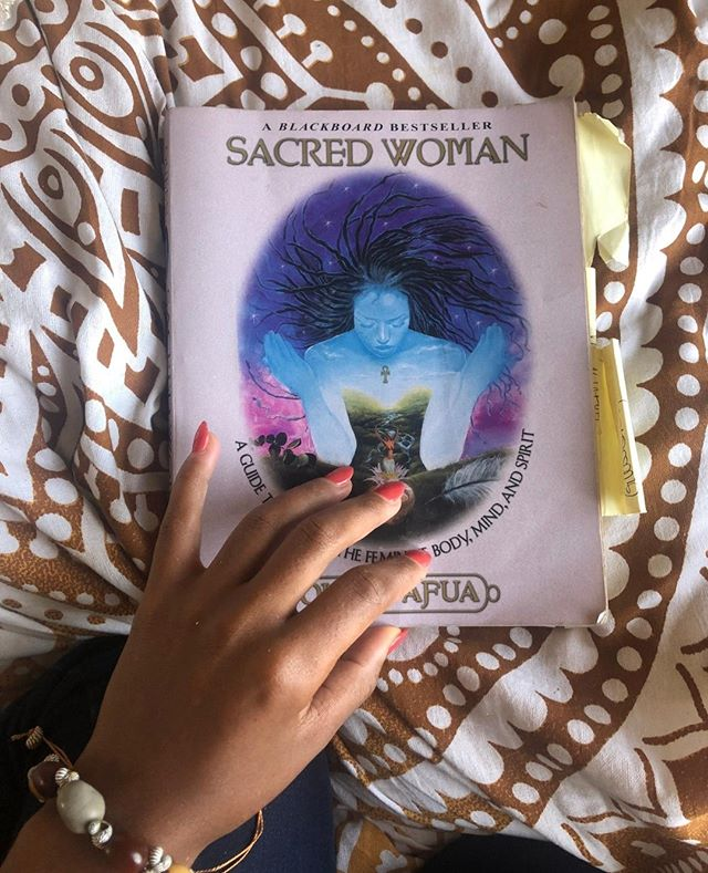 "So, I have been holding on to this book for so long, but now I am ready to embark on a new adventure in reclaiming my power as a women. My new sister friend ( @alanamgl_ ) and I would like to get a group of women to journey together after the 4th of  July. A little more info about Queen Afua and #SacredWoman is below, but if interested in more information about joining our little healing group just slide in my DM's or you can email me at hello@tiffanylitshae.com. Also, no need to be in #LA, we are taking this virtual. 🖥️⁠ *⁠ *⁠ * ⁠ Sacred Woman is a transformative journey of physical and ancestral healing from Queen Afua, a renowned herbalist, natural health expert, and dedicated healer of women's bodies and women's souls. ""Sacred Woman flings open the gates of understanding the feminine essence. It is the return of the soul force to women.""—Jewel Pookrum, MD, PhD (Sunut Arit)⁠ #sacredwoman #healing #peace #joy # love #blackgirlmagic #books #mandala ⁠  #yoga #meditation #happy #happiness #life #mindfulness"