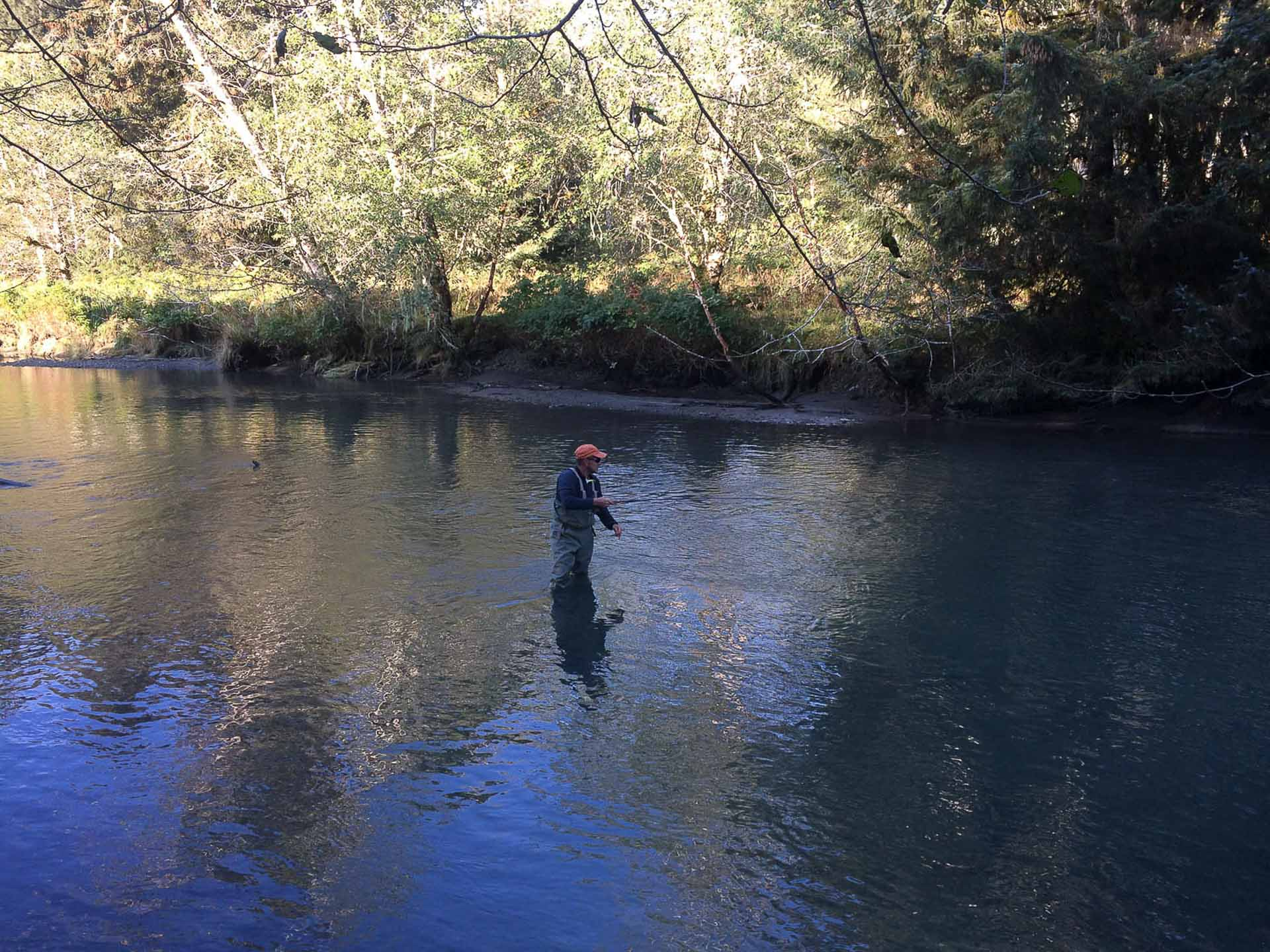 Targeting Salmon in Sitka Alaska