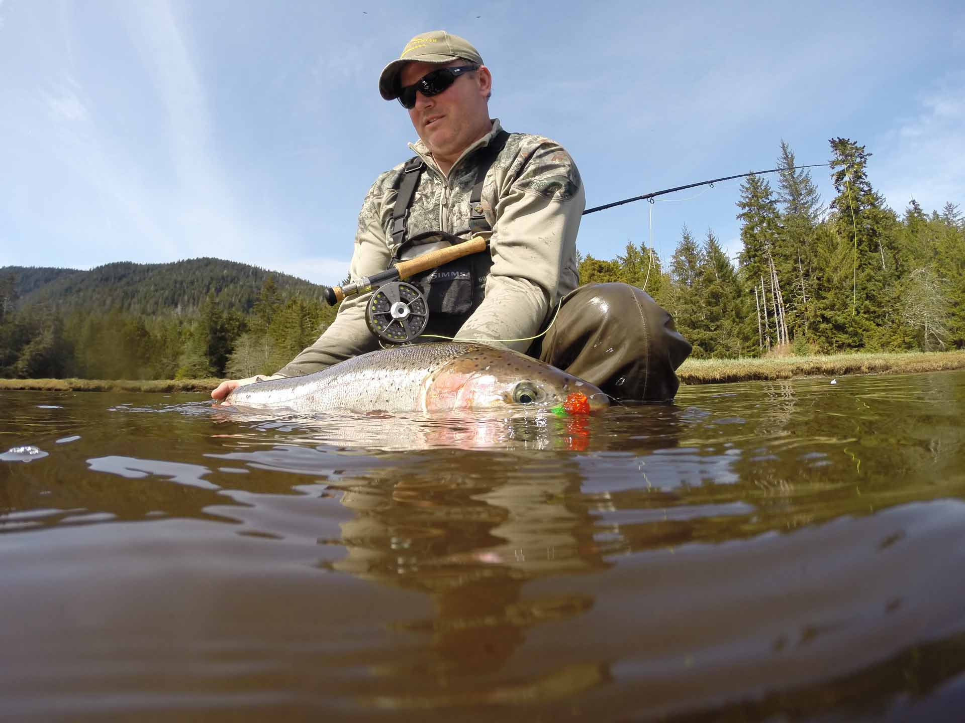 Spring Steelhead on the Fly