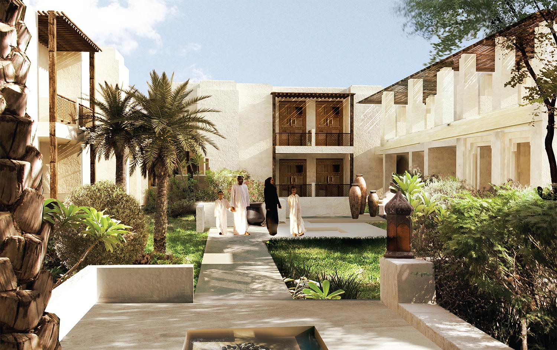 BEAD Wathba Resort hospitality courtyard.JPG