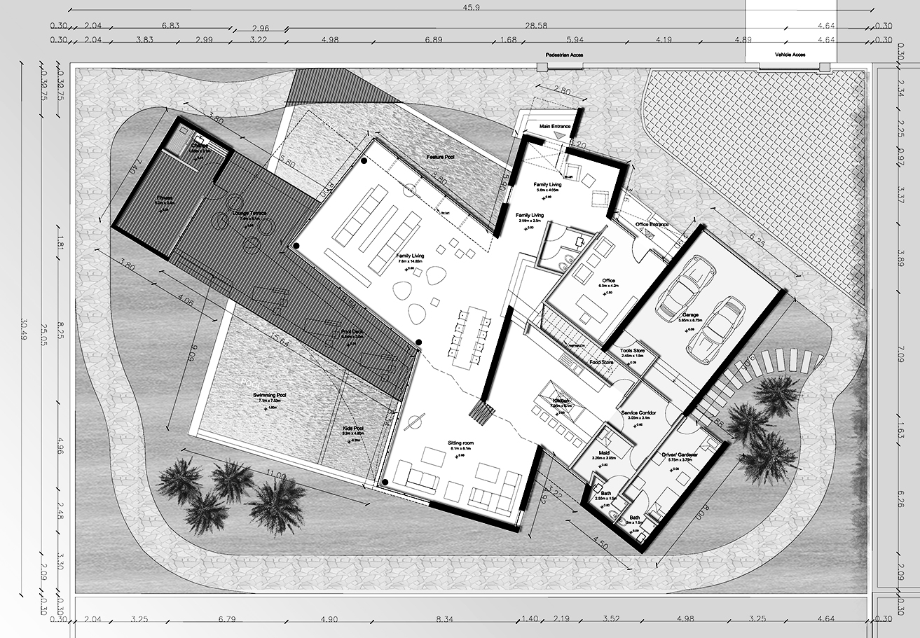 BEAD Contemporary villa 2 drawing floor plan.JPG