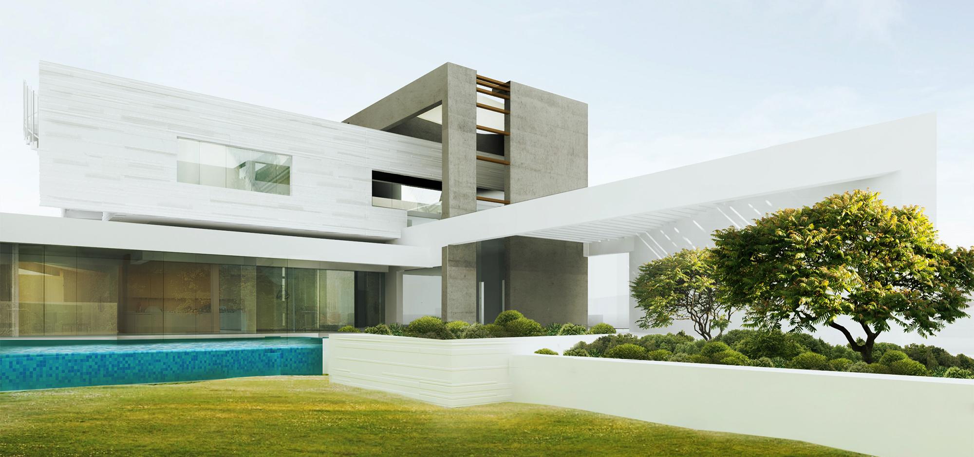BEAD Contemporary villa garden view.JPG