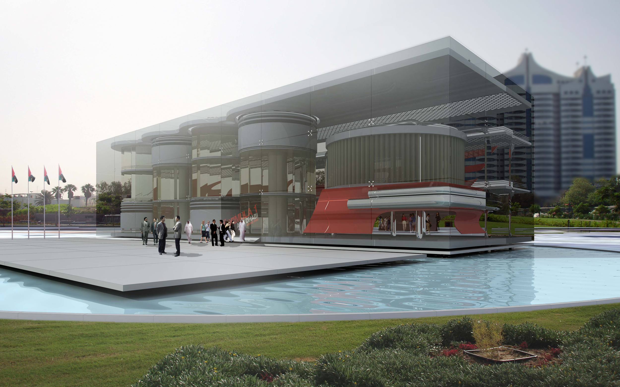 BEAD F1 Cafe Abu Dhabi UAE eye level view.JPG