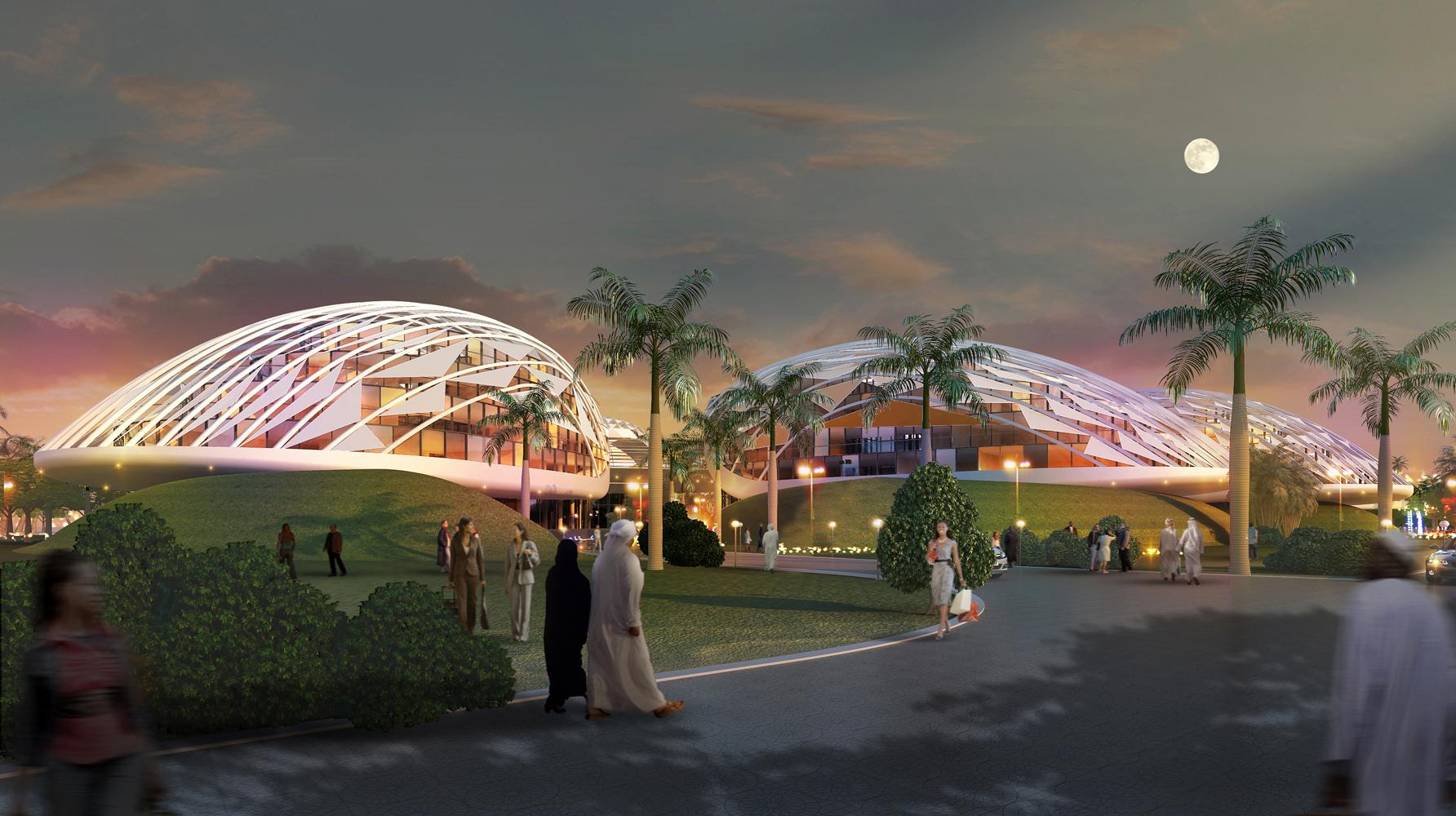 BEAD Mushrif Abu Dhabi Residential night view.JPG