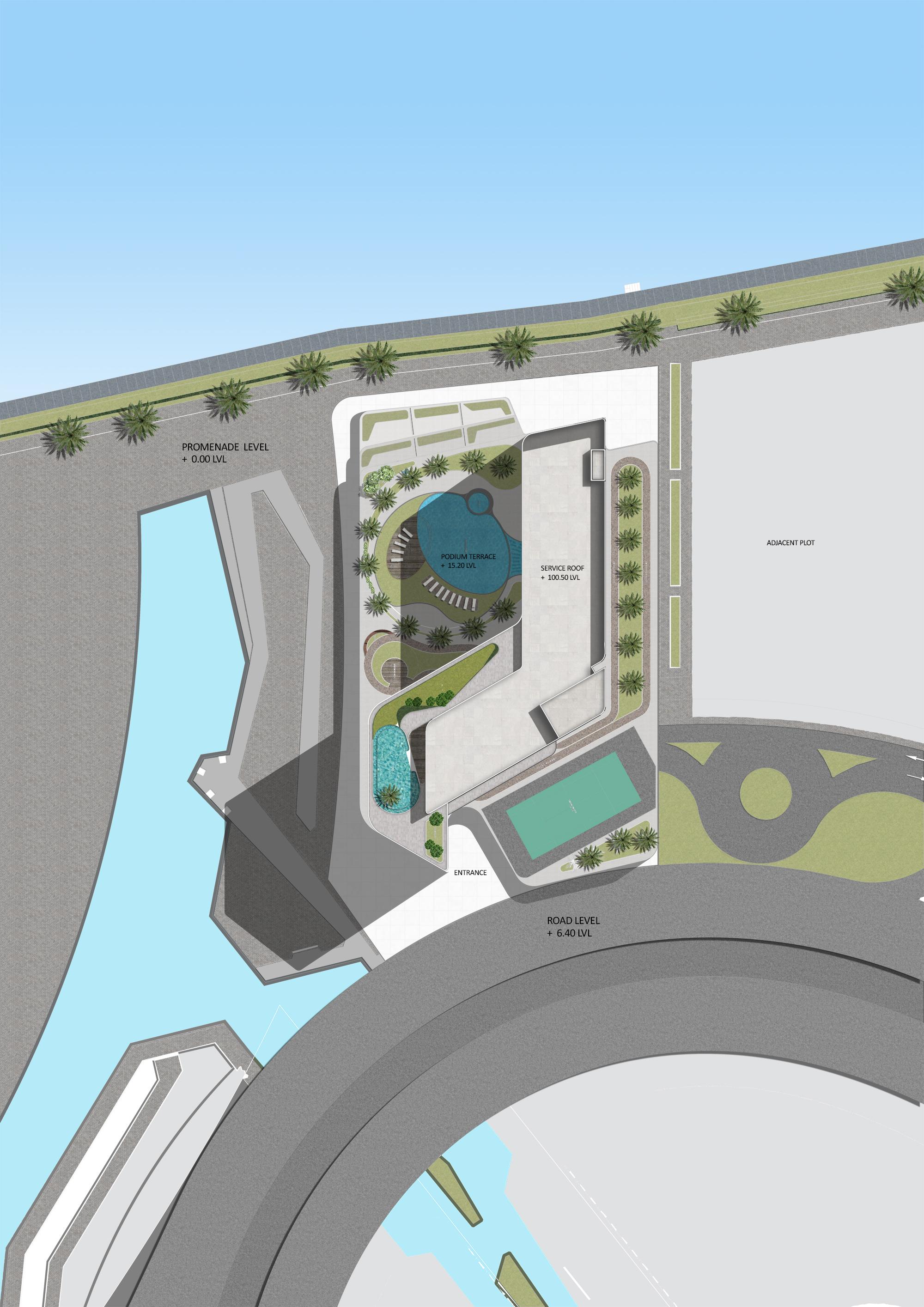 Residential Tower BEAD site plan.JPG