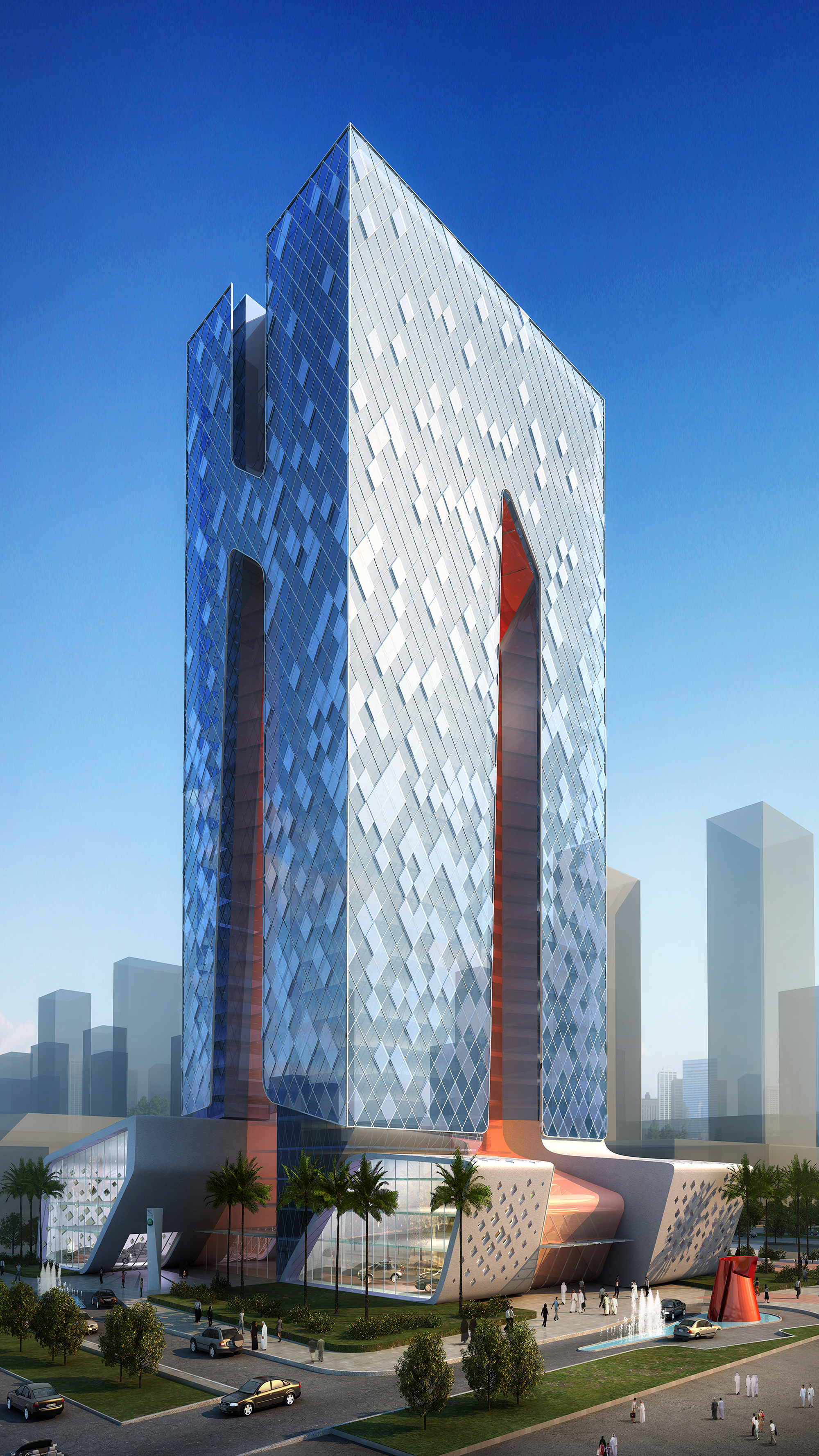 lusail tower BEAD doha Qatar day view2.JPG