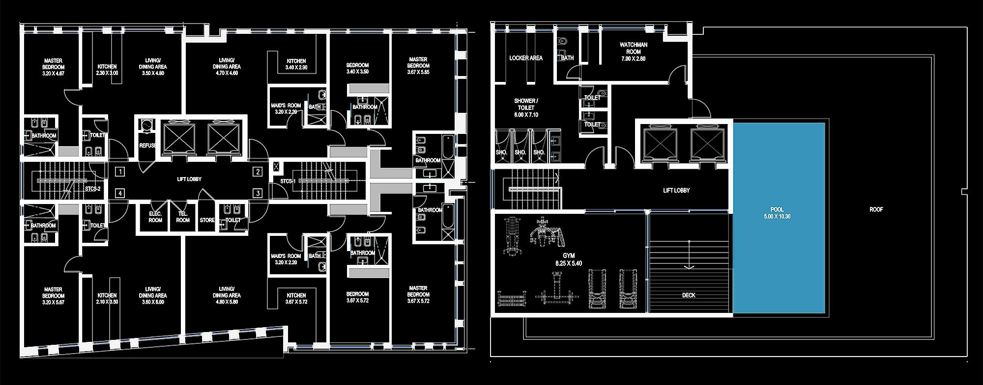BEAD Al Ain Residential plans.JPG