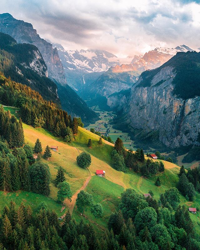 Life in the Swiss alps