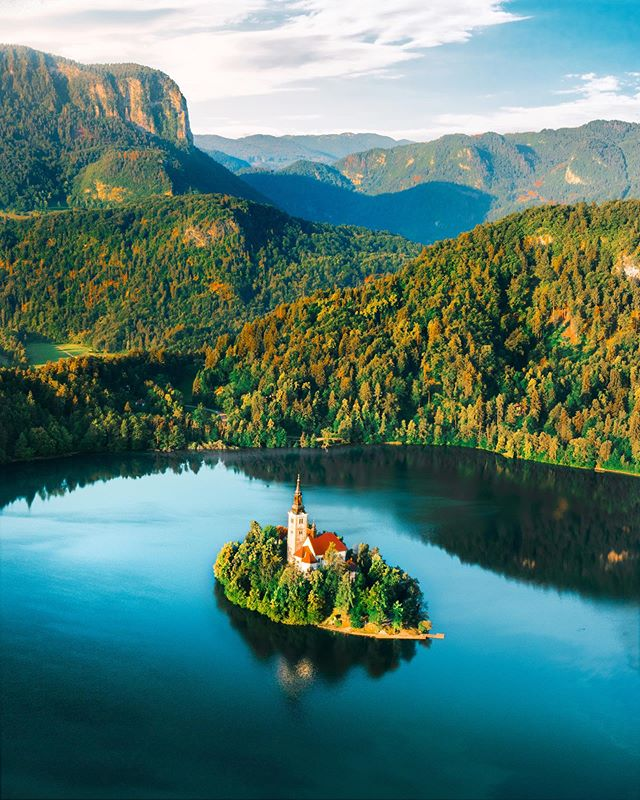 The crown jewel of Lake Bled