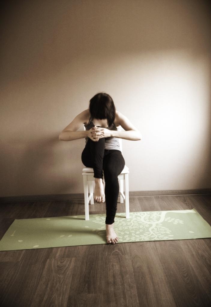 Herhaal je beweging met je andere been