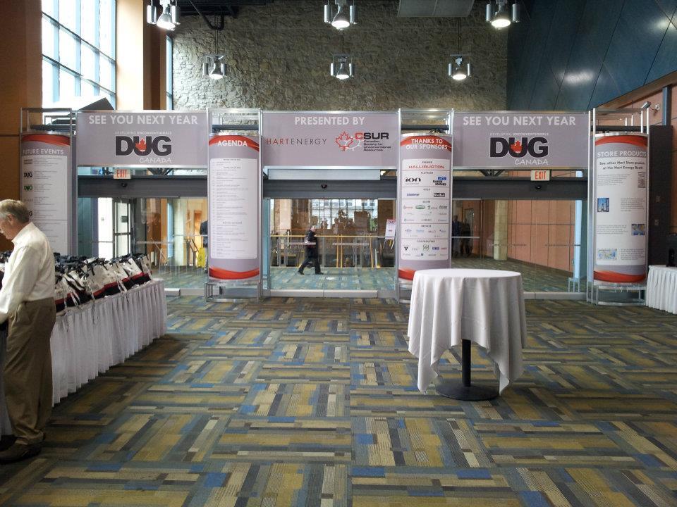 DUG Octanorm Entrance Structure