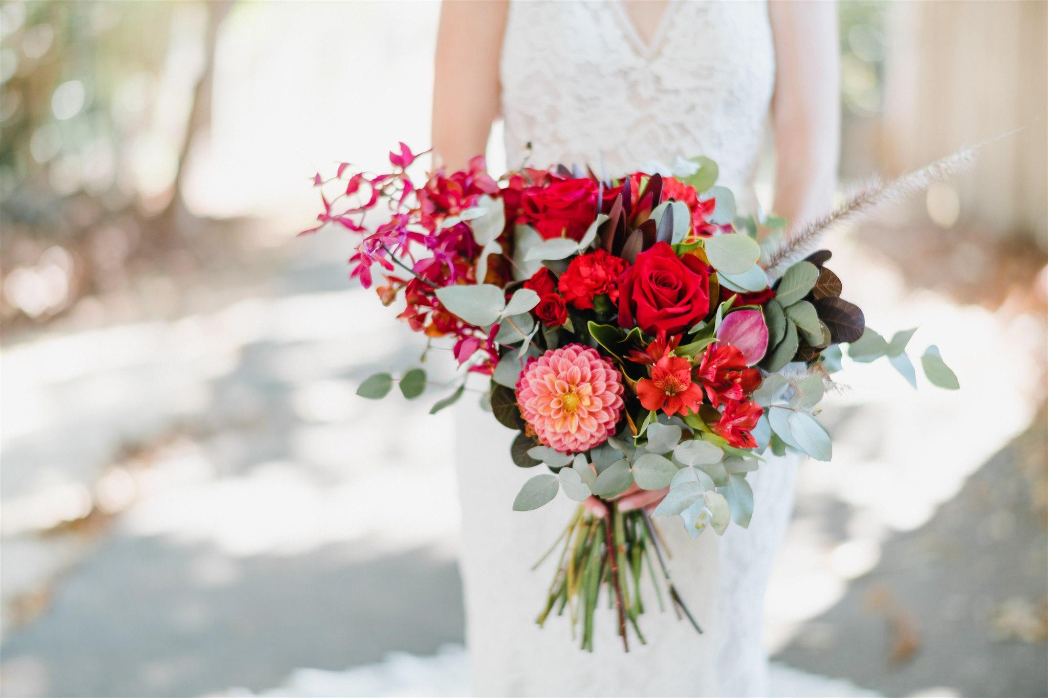 Maddie's Summergrove wedding. Florals by Beautiflora. Photograph by Gabriel Veit.