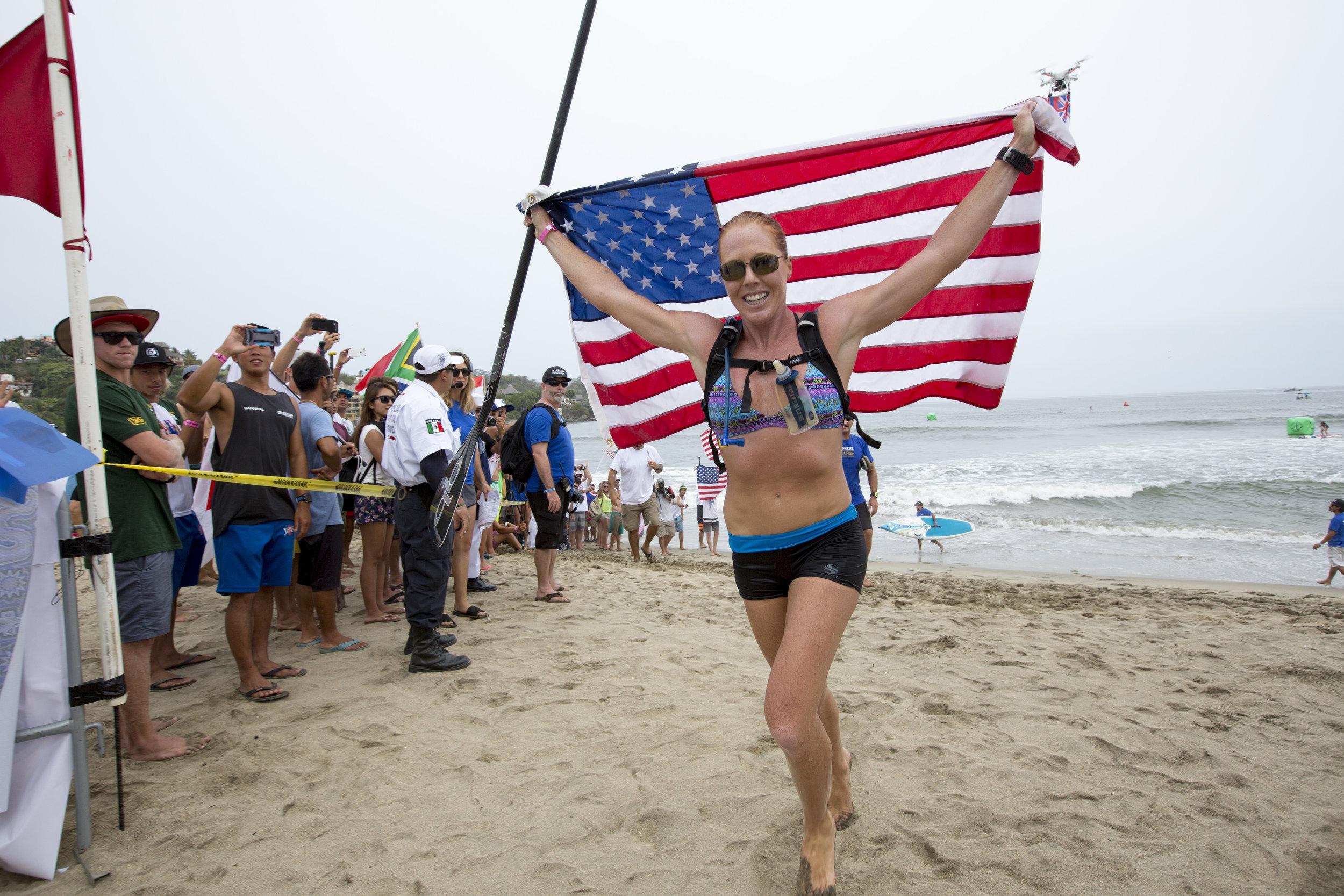 Candice Appleby - USASUP Distance Race, Technical Race, Sprint Race