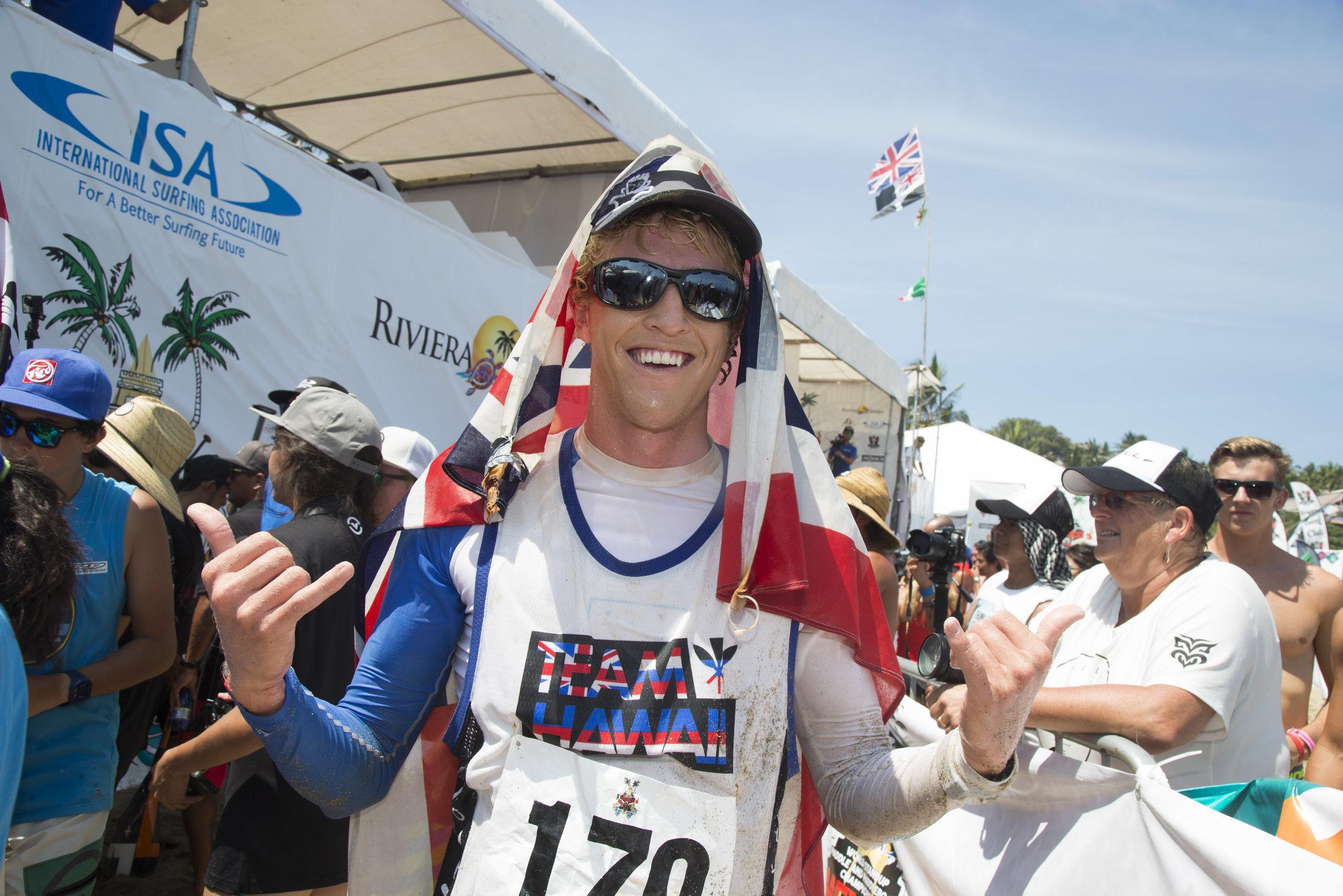 Connor Baxter - HawaiiSUP Technical Race and Distance Race