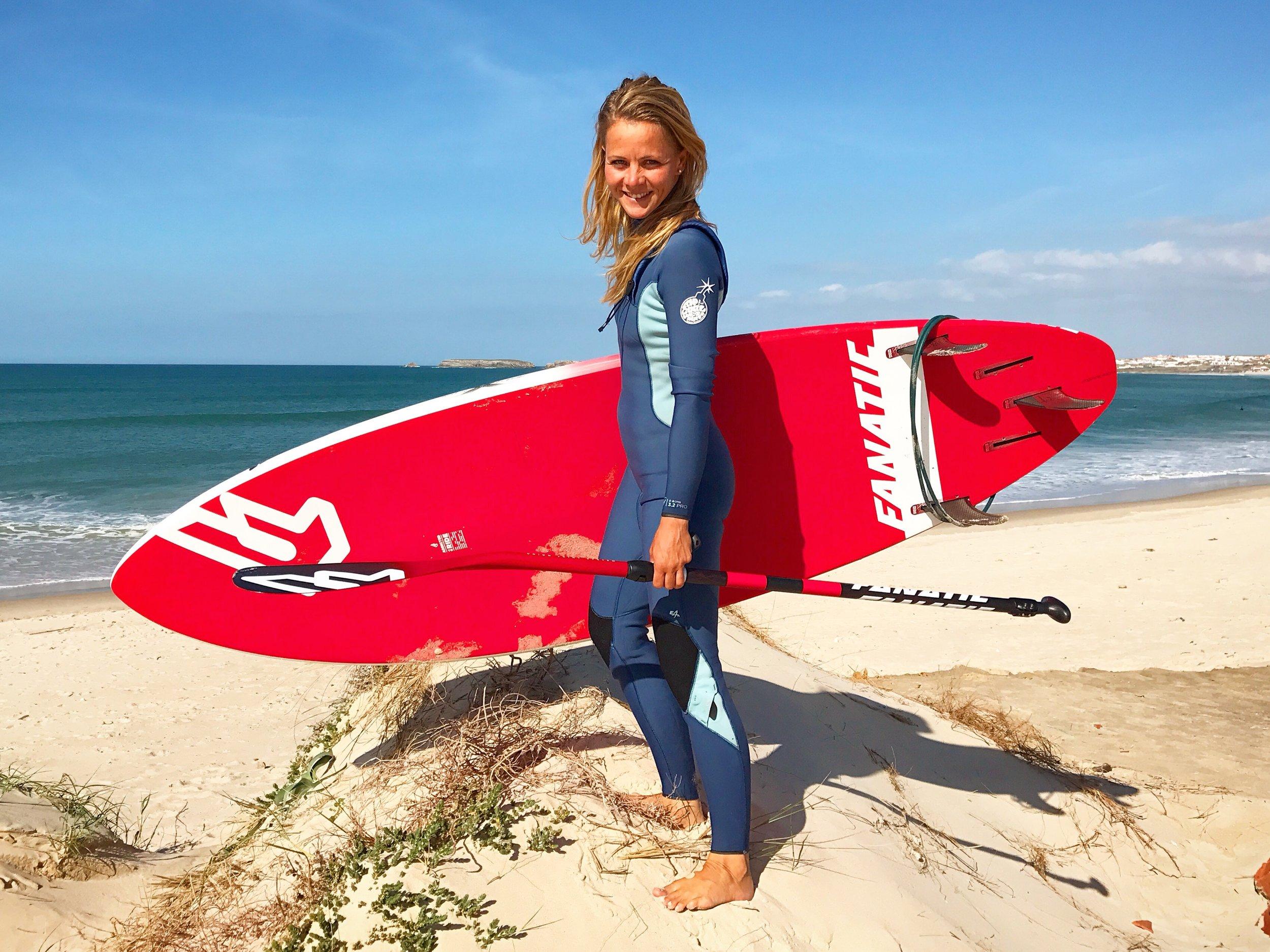 Cathrine Korsgaard Yde - Surfklubben NASA (Klitmøller)SUP Technical Race