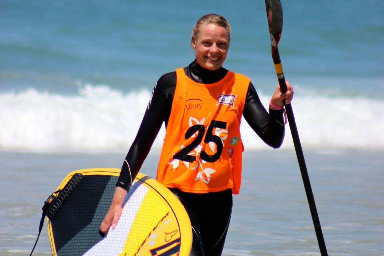Annette Carsing - Surfklubben NASA (Klitmøller)SUP Surfing