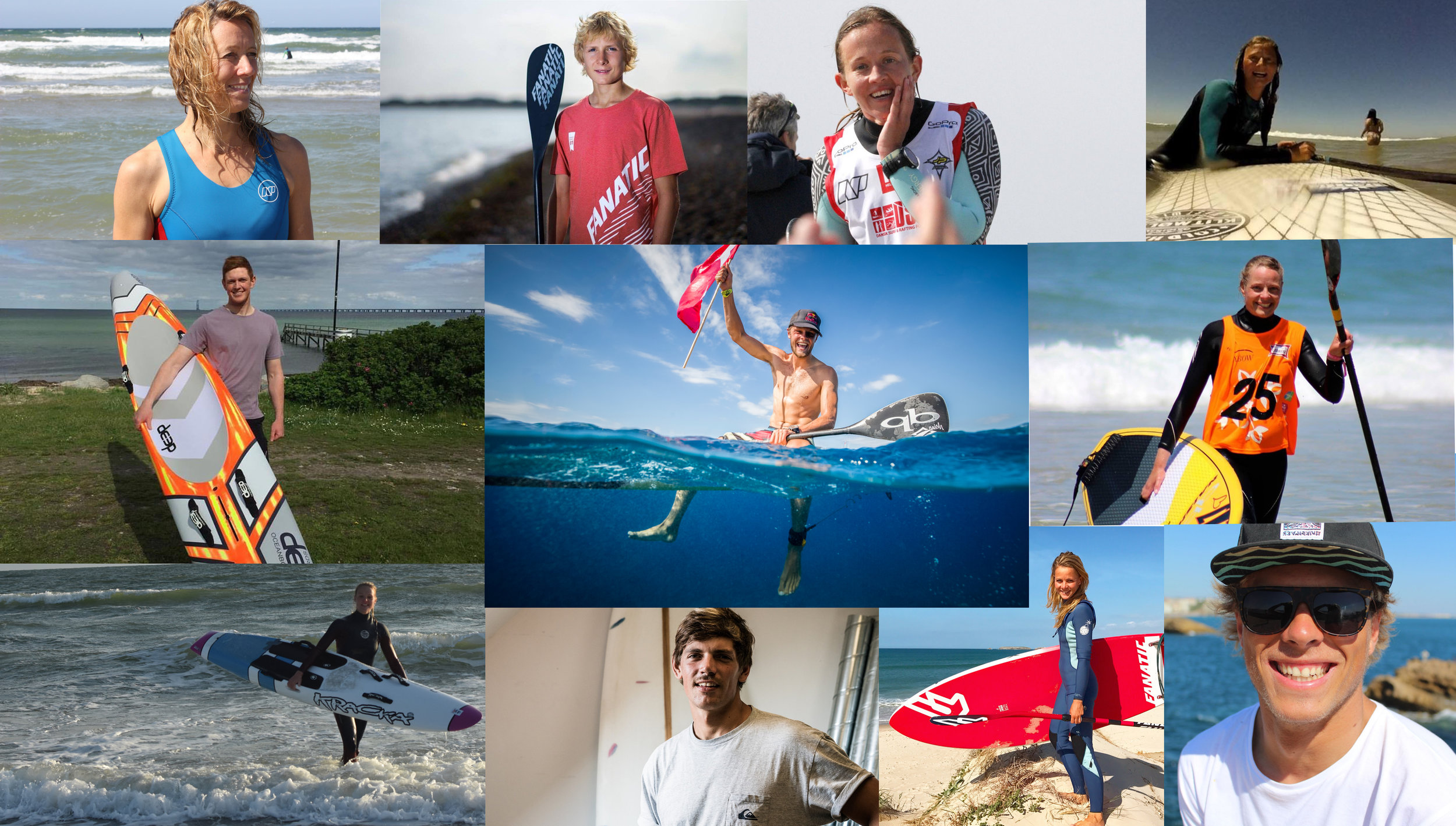 The Danish team -
