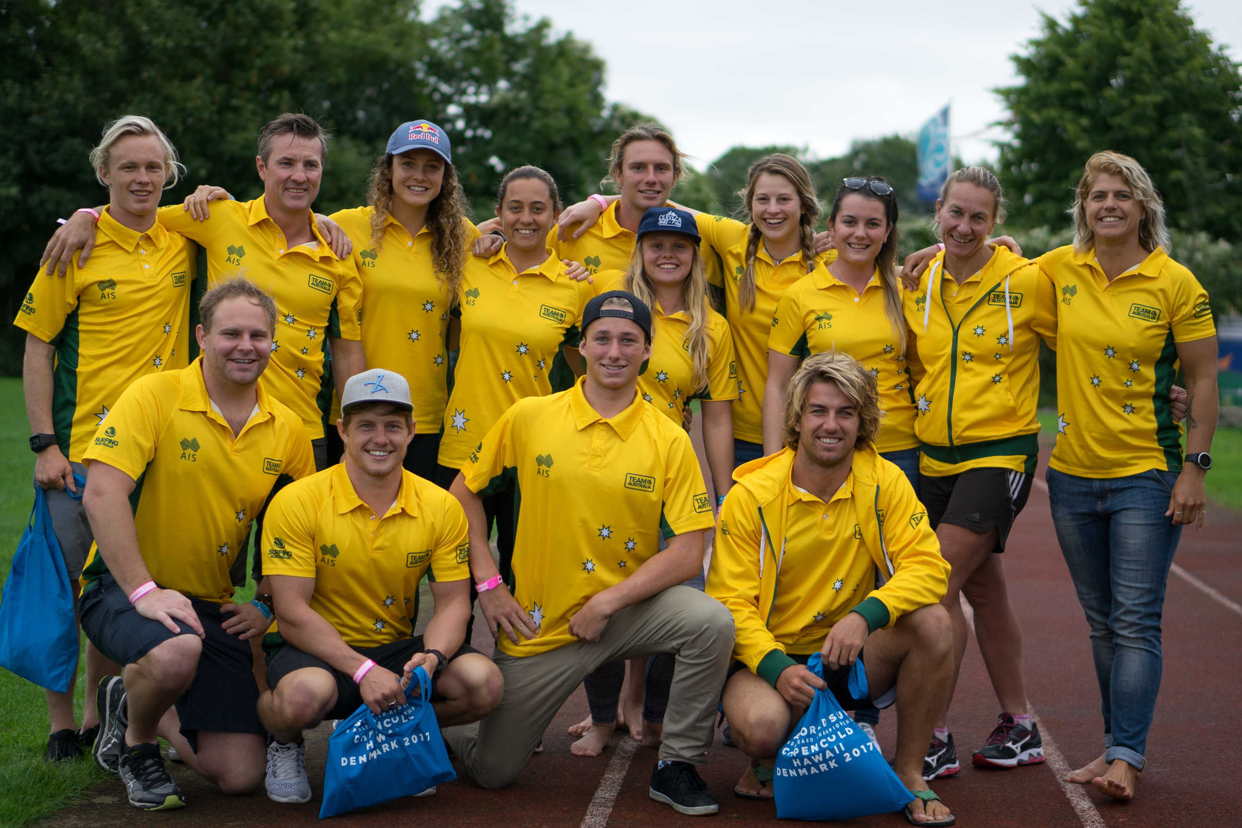 Team Australia has arrived in Denmark intent on continuing their dominance in the World Championship, having earned the Team Gold Medal in four of the event's five editions. Photo: ISA / Sean Evans