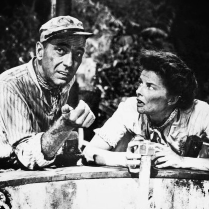 The African Queen: Humphrey Bogart, Katharine Hepburn and John Huston (The Blacklist Episode #4)