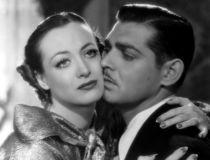 Joan Crawford and Clark Gable,  Chained , 1934