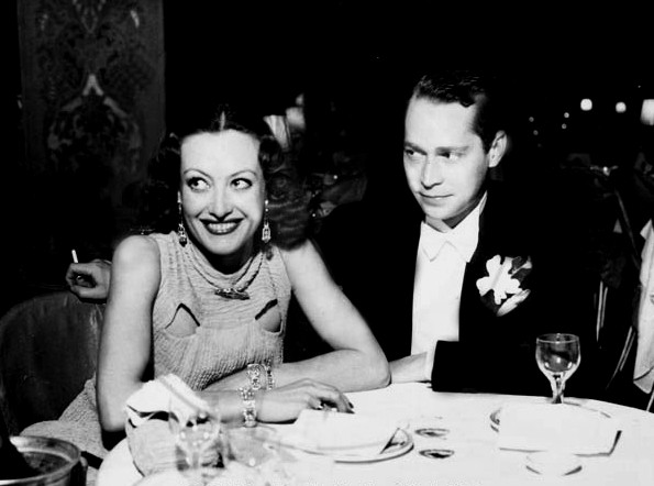 Joan Crawford and Franchot Tone