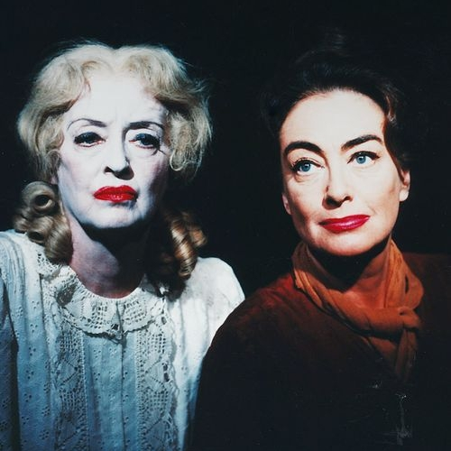 Bette Davis and Joan Crawford publicity shot for  What Ever Happened to Baby Jane?
