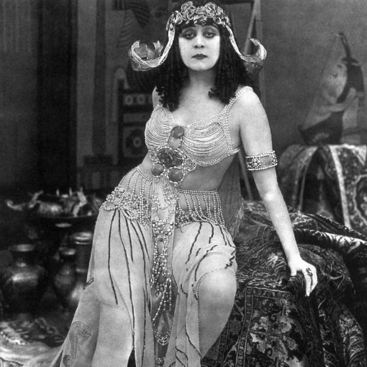 YMRT #17 THEDA BARA, HOLLYWOOD'S FIRST SEX SYMBOL