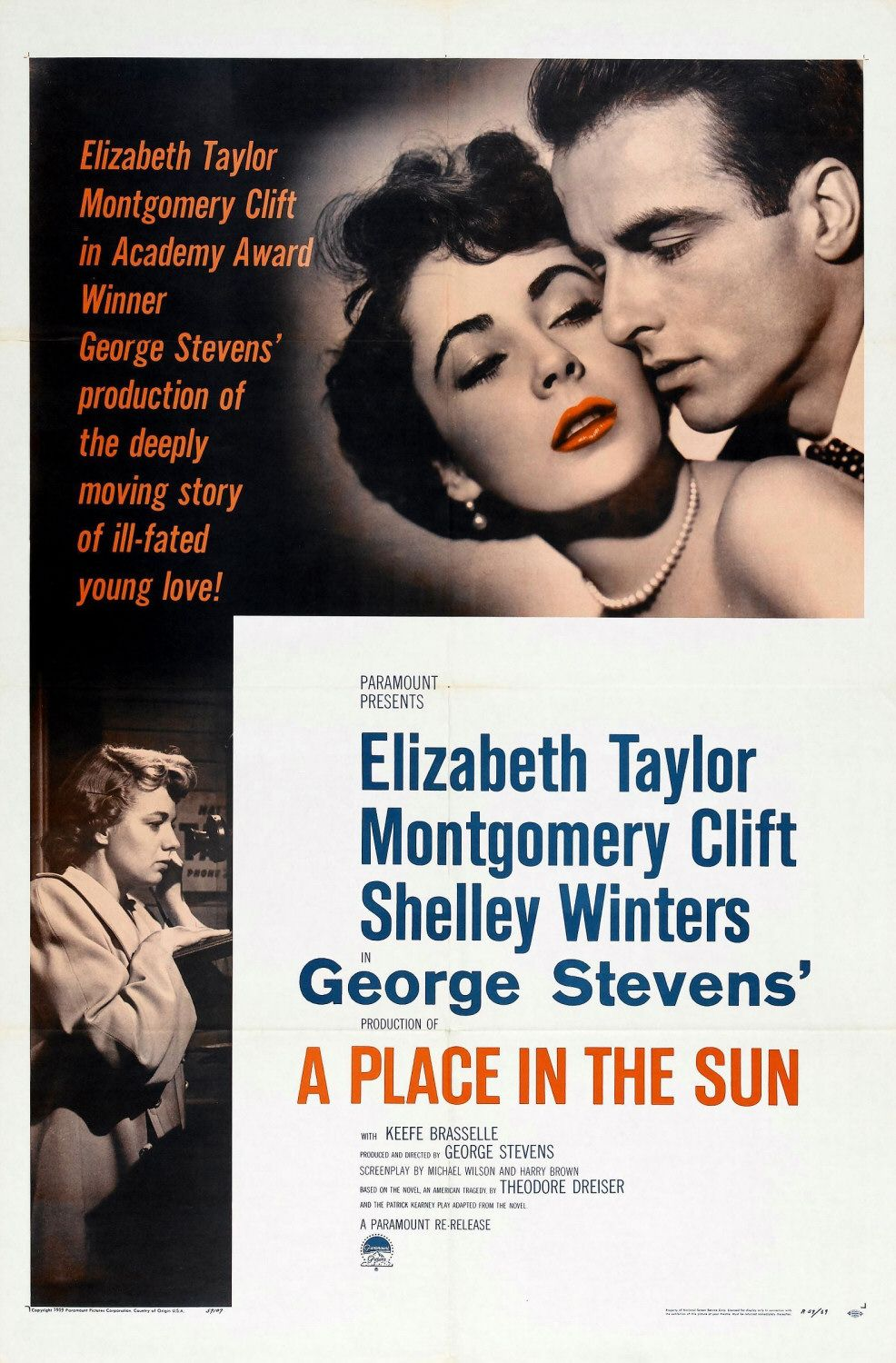 A Place in the Sun (1951) 🌟